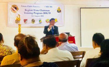 Region & Zone Chairman's Workshop 2018 highlights